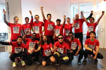 Postdoctoral fellows from the Scientia Fellows programme and friends participated in the Holmenkoll relay.