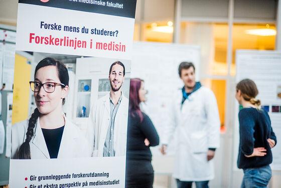 Plakat om Forskerlinjen