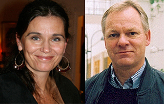 Profile pictures of Mette Kalager and Terje P. Hagen who is running in this years election