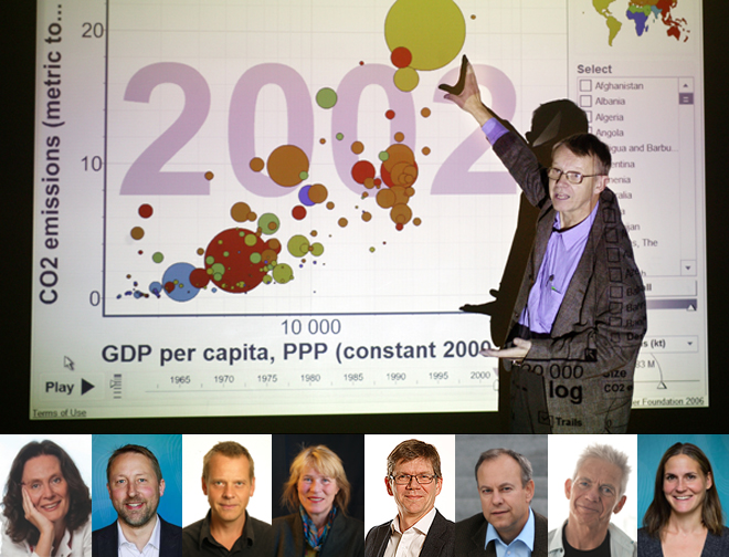 Hans Rosling was a Swedish physician, academic, statistician, and public speaker.
