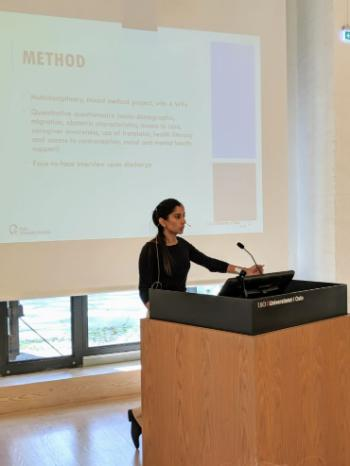 Sukhjeet Bains, PhD student, Oslo University Hospital