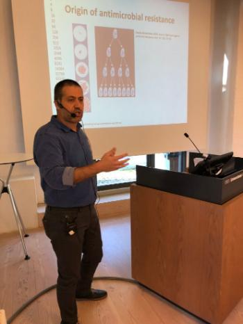 Nabil Karah, MD., PhD, The Laboratory for Molecular Infection Medicine Sweden (MIMS), Department of Molecular Biology, Umea University