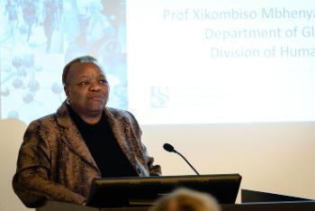 Xikombiso Mbhenyane, Professor - Division Human Nutrition, Faculty of Medicine and Health Sciences, Stellenbosch University, South Africa.