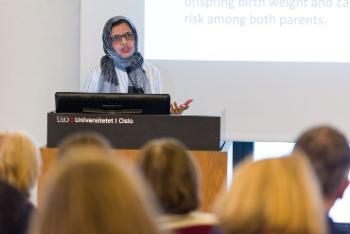 Fareeha Shaikh, Doctoral Research Fellow - Department of Community Medicine and Global Health.