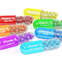 Colourful collection of vitamins. Photo: Colourbox.com