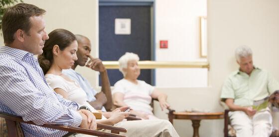 Pasienter på venterom