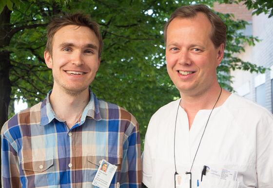 Frederik Emil Juul og Kjetil Kjeldstad Garborg