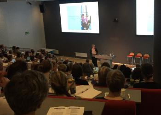 Anne Grethe Erlandsen taler