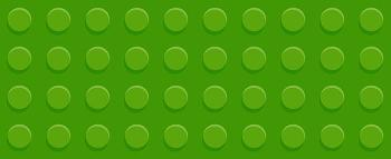 utsnitt av legokloss