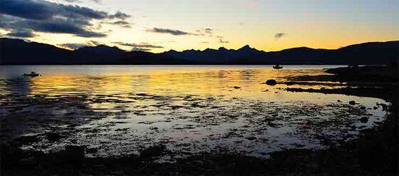 Bildet kan inneholde: himmel, kropp av vann, naturlig landskap, natur, horisont.