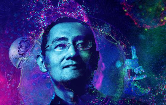 Photo of Nobel Laureate Shinya Yamanaka