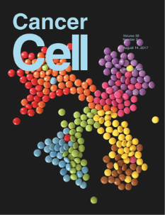 Image of Cancer Cell journal cover