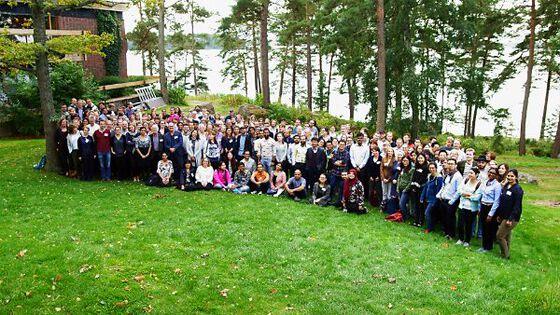 Group photo of Nordic EMBL partnership