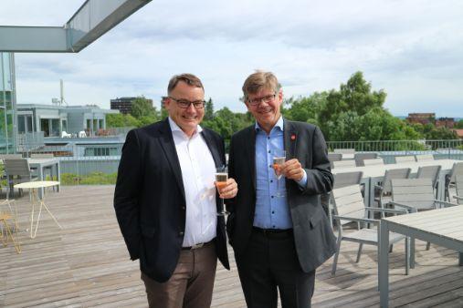 Photo of Kjetil and Stein