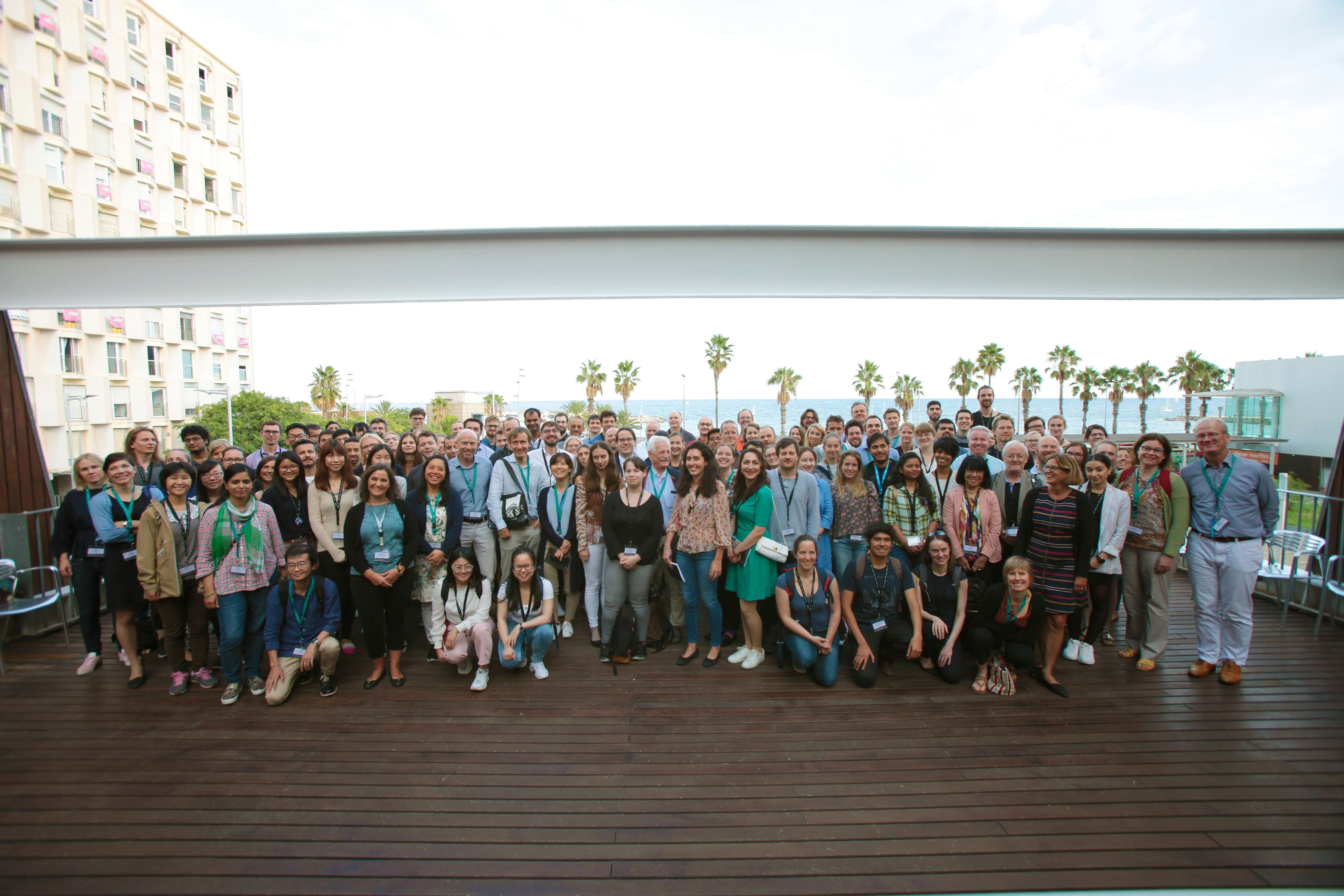 Group picture of all attendees at the EMBL meeting