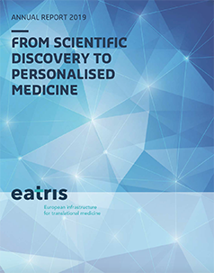 Cover of 2019 EATRIS annual report