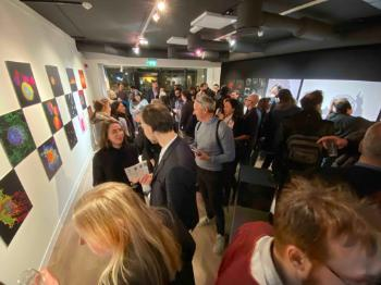 Crowd ,Event ,Vernissage ,Art exhibition ,Exhibition.
