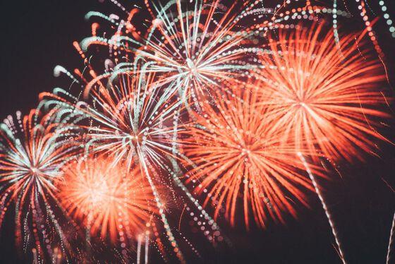 Photo of celebratory fireworks