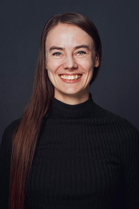 Photo of Marieke Kuijjer smiling.