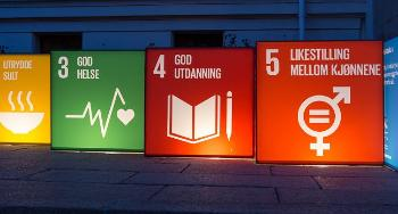 Bilde av bærekraftssymboler
