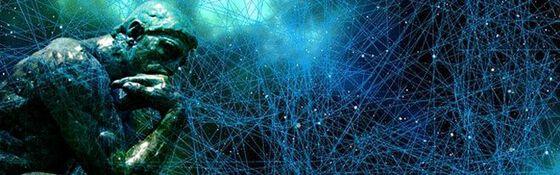 Illustrasjon av tanker og hjernesignaler