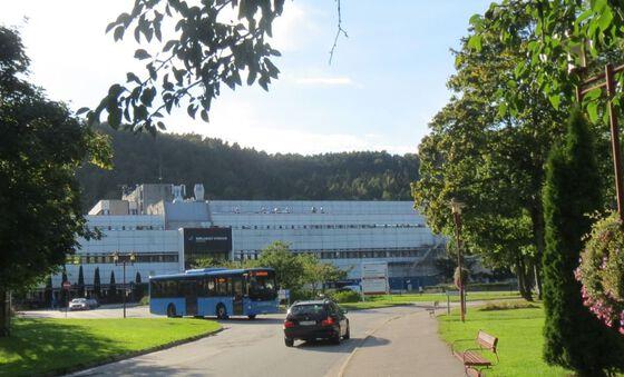 Forsiden til Sørlandet sykehus HF.